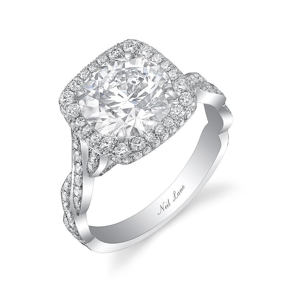The platinum design features a 3 5 carat diamond