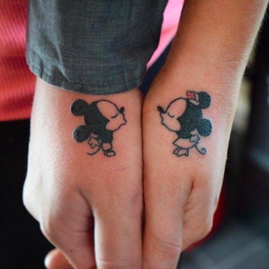 Disney Couple Tattoos