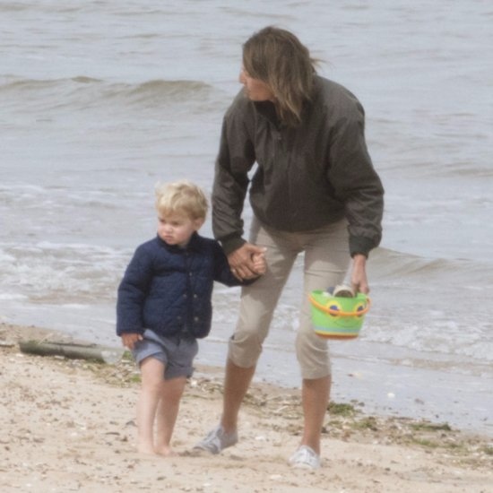 Prince George Has the Cutest Beach Day With His Grandma
