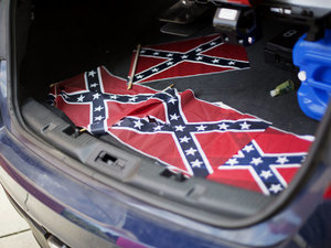 What Racist Scumbag Put Confederate Flags Around Martin Luther King Jr.'s Church?