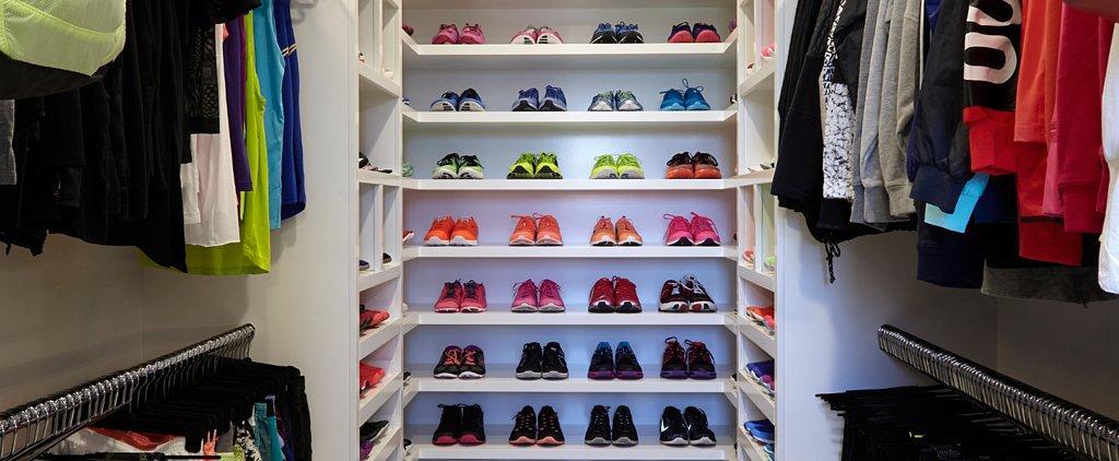 Khloé Kardashian's Insane Workout Shoe Collection Is Basically Sneaker Porn