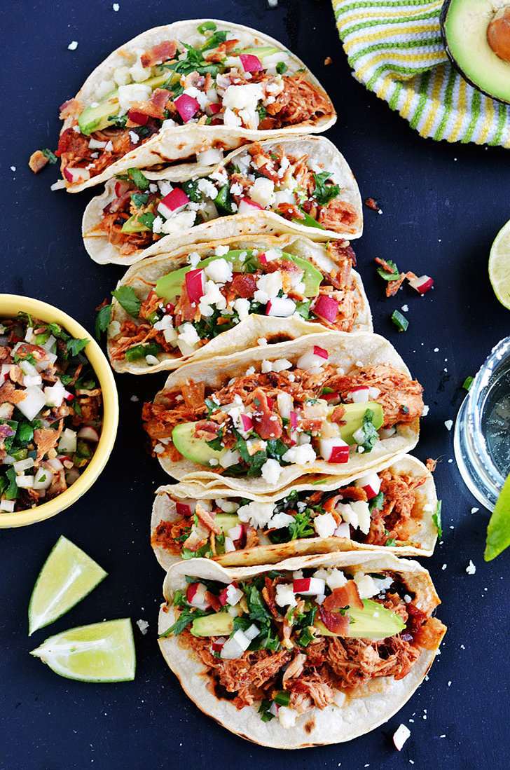 Slow-Cooker Chicken Tinga Tacos | 15 of the Easiest Mexican and Tex ...