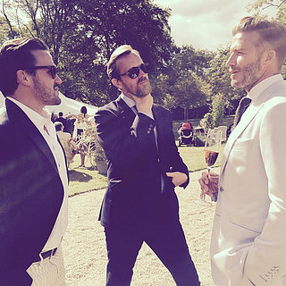 There Are a Whole Lot of Good-Looking Stars at Guy Ritchie's Wedding