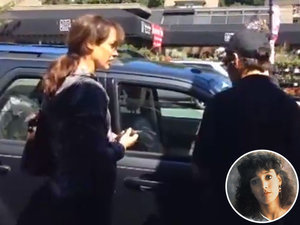 <em>Flashdance</em> Star Jennifer Beals Confronted About Leaving Her Dog in a Hot Car