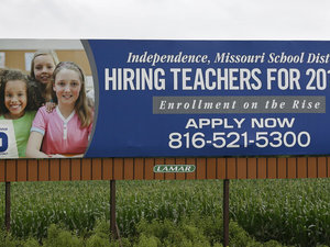 Kansas Underfunded Education And Cut Tenure. Now It Can't Find Enough Teachers To Fill Classrooms.