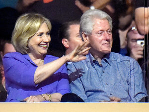 Bill and Hillary Clinton Get a Bono Shout-Out While Attending U2 Concert in NYC