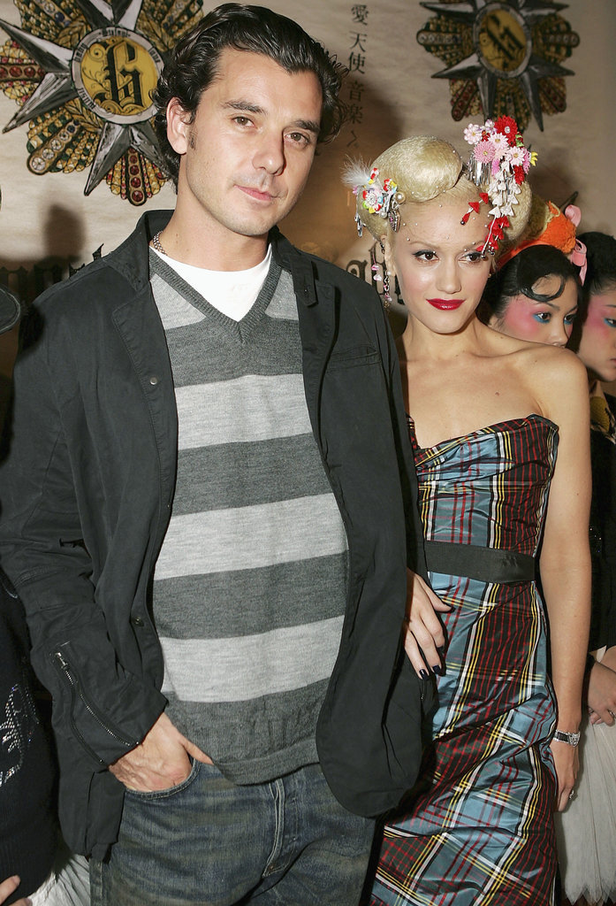 Gavin and Gwen posed for pictures during the LA release party for Gwen Stefani's Love, Angel, Music, Baby in November 2004.
