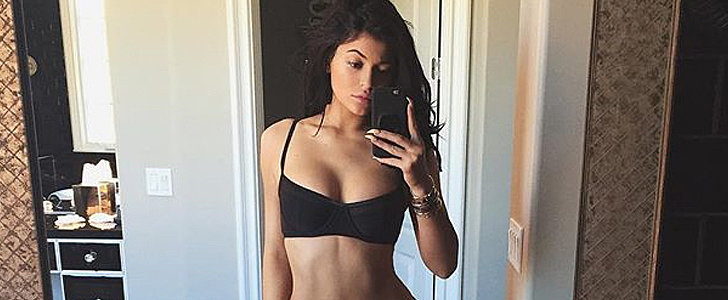 Kylie Jenner Flaunts Her Abs in This Racy Bikini Selfie