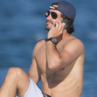 Shirtless Prince Carl Philip With the Royal Family 2015