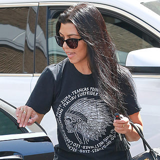 Kourtney Kardashian Shopping in LA August 2015 | Pictures