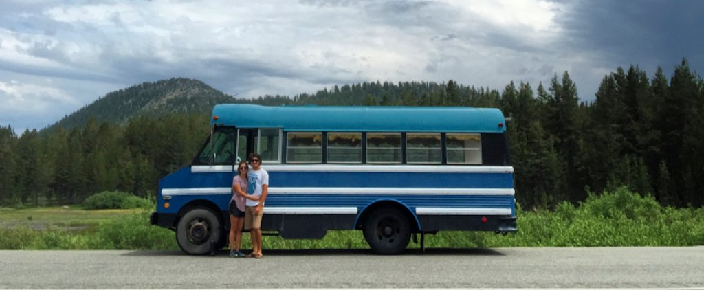 How a 1988 School Bus Became a Couple's Traveling Dream Home