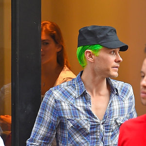 Jared Leto in New York with model Valery Kaufman