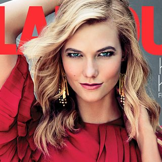 Karlie Kloss Scales a Wall, Then Jumps in a Pool For Her Latest Photo Shoot