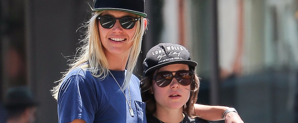 Ellen Page and Her Artist Girlfriend Take a Sweet Stroll Through NYC