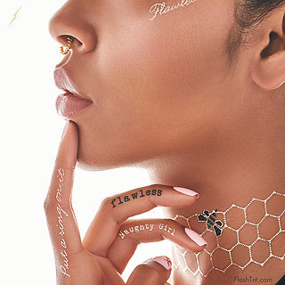 Beyoncé's Flash Tattoos Are Finally Here — and They're Flawless!
