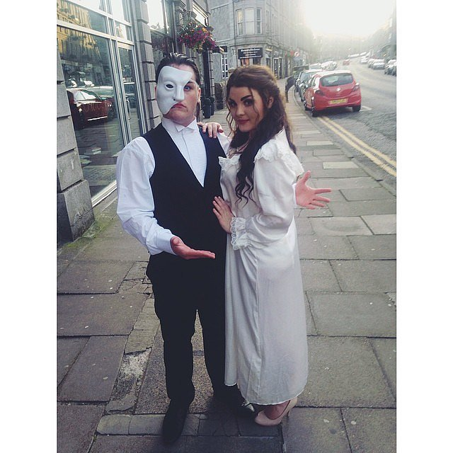 The Phantom of the Opera and Christine