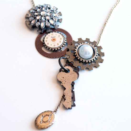 Give Your Old and Broken Jewelry a Steampunk Makeover
