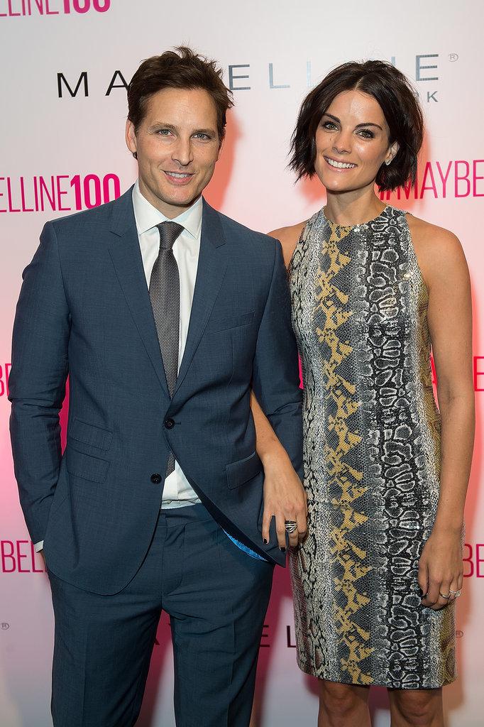 Peter Facinelli and Jaimie Alexander