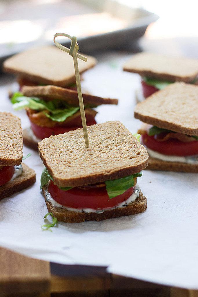 Mini BLT Sandwiches