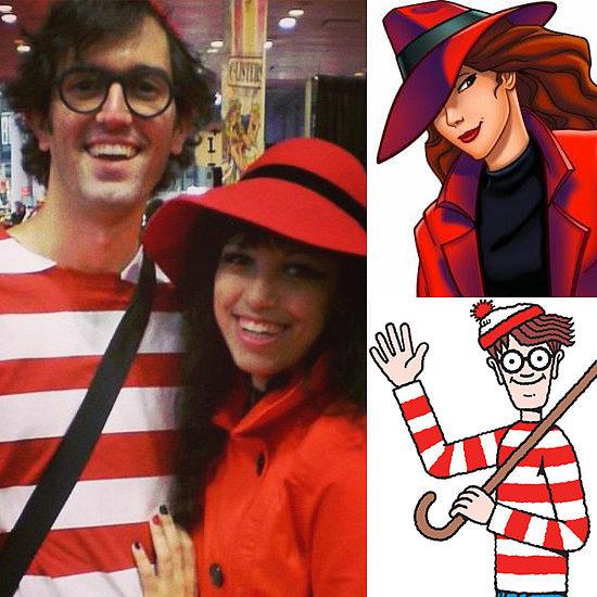 Where's Waldo and Carmen Sandiego