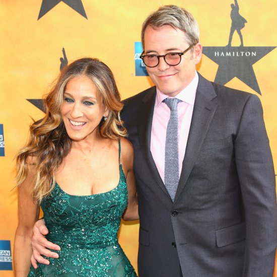 Sarah Jessica Parker and Matthew Broderick at Hamilton Show
