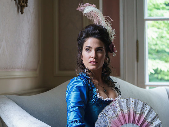 Sexy Seamstress! Check Out Nikki Reed as Betsy Ross in Sleepy Hollow