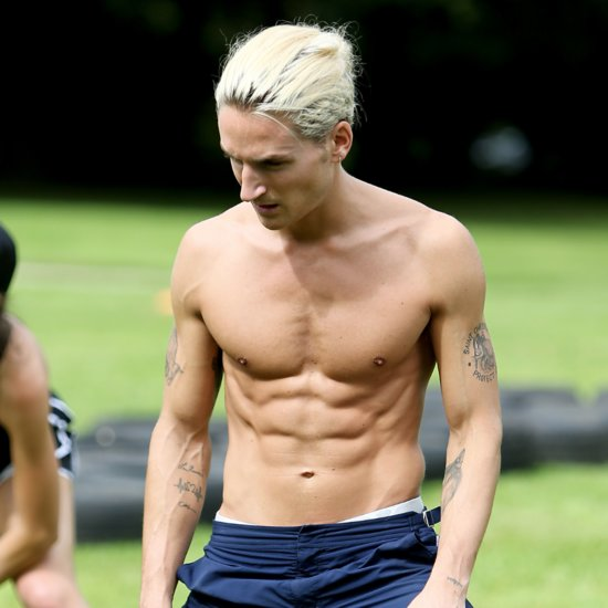 Shirtless Photos of Oliver Proudlock