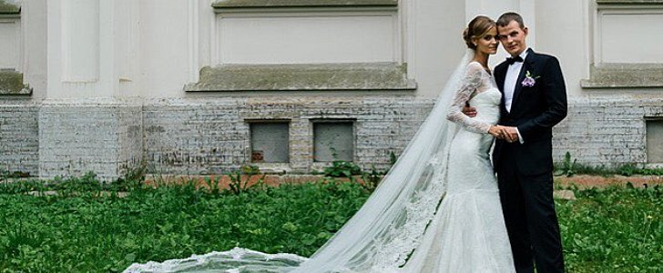 You Won't Believe Where This Victoria's Secret Model Found Her Stunning Wedding Dress