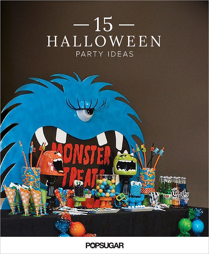 kid friendly halloween party ideas popsugar moms. Black Bedroom Furniture Sets. Home Design Ideas