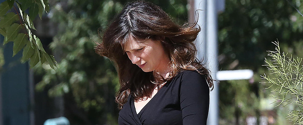 Zooey Deschanel Steps Out Weeks After Giving Birth