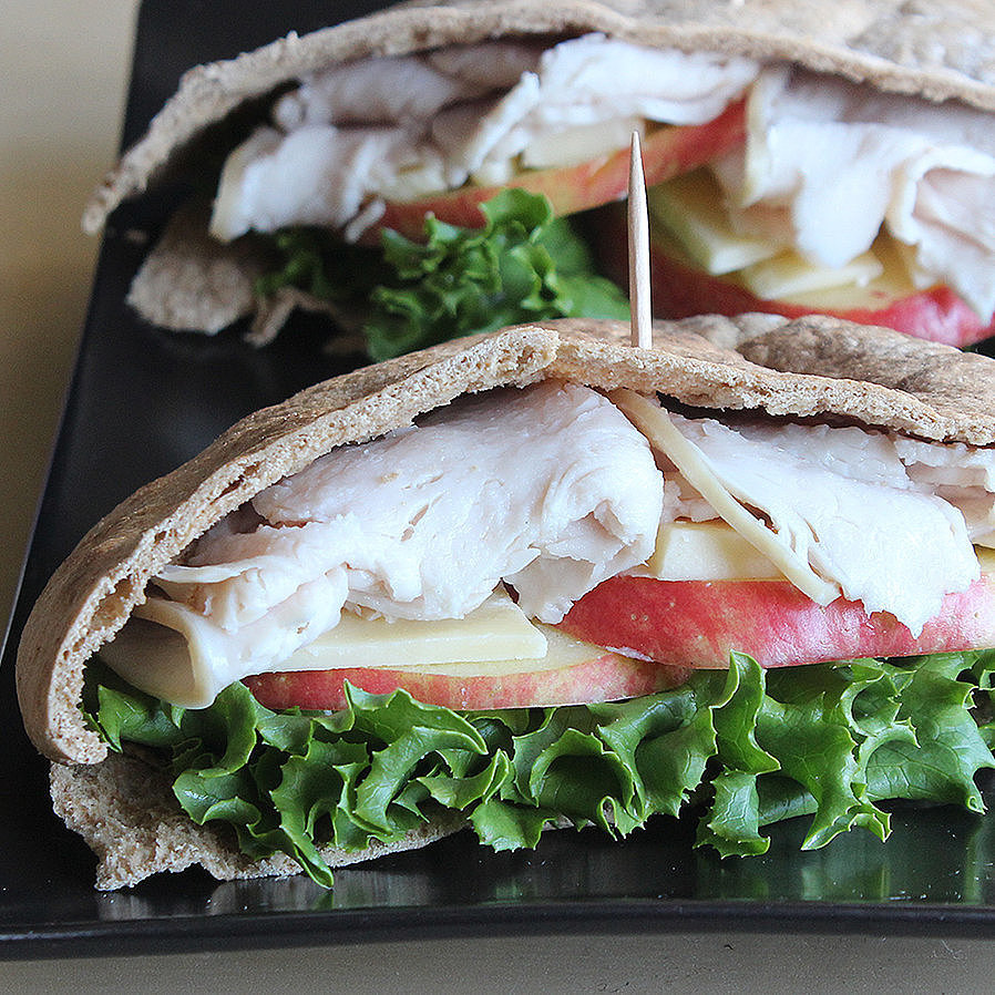 Turkey and Apple Pita Pocket