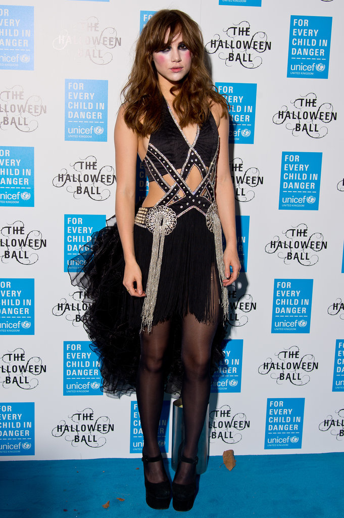 Suki Waterhouse got into the Halloween spirit at the UNICEF Halloween Ball in 2014.