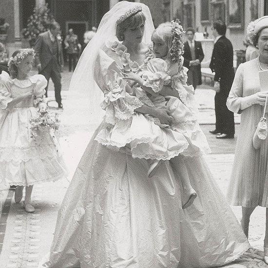 Princess Diana's Wedding Dress Pictures