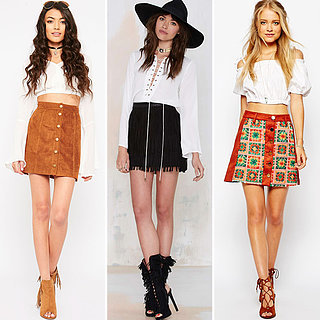Best Suede Skirts to Wear This Autumn