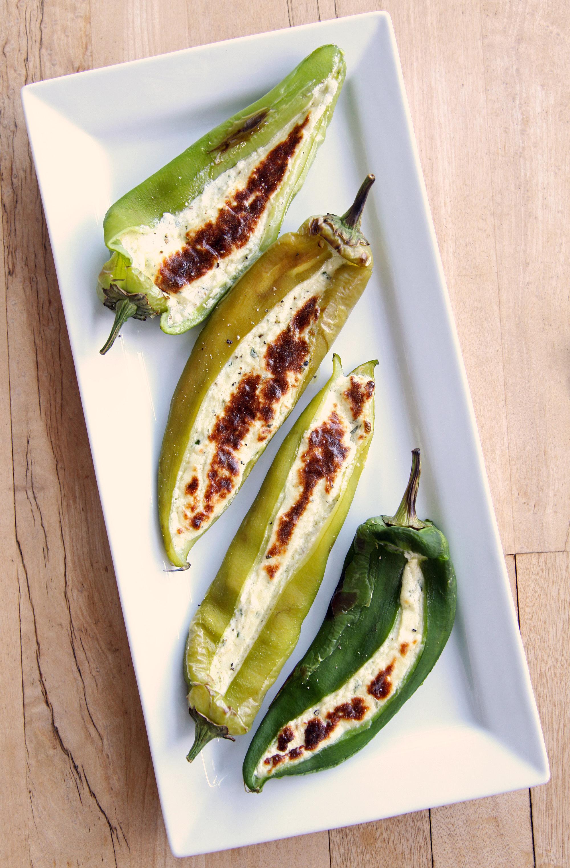 Feta Stuffed Pepper Recipe | POPSUGAR Food
