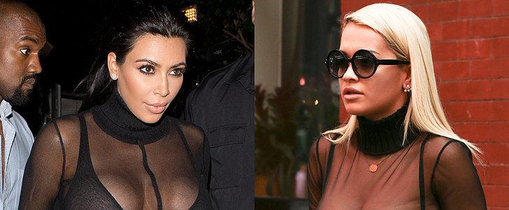 Kim Kardashian and Rita Ora Changed Everything We Thought We Knew About Turtlenecks