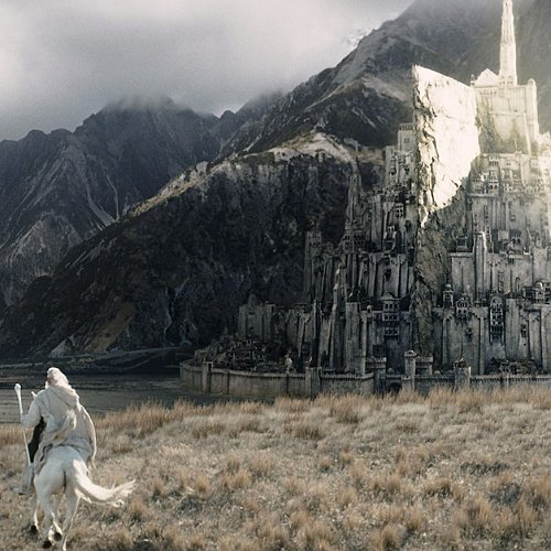 Real Minas Tirith From Lord of the Rings