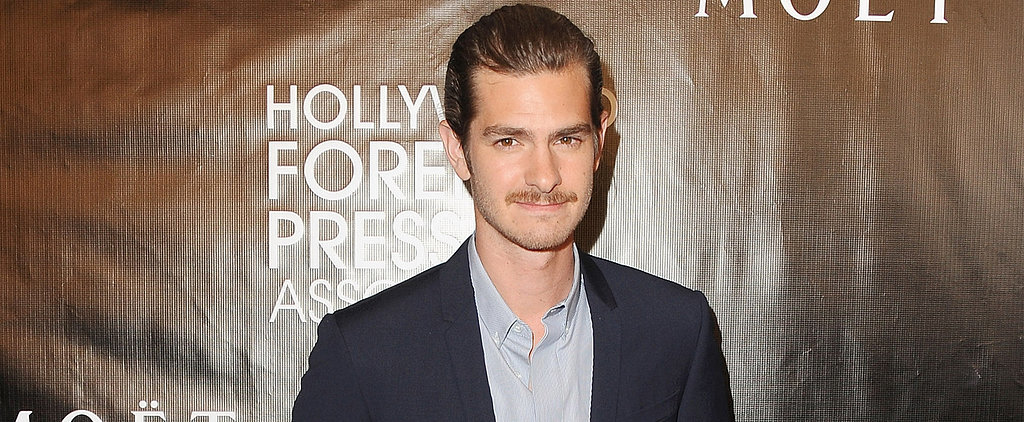 Andrew Garfield Is Rocking a New Moustache