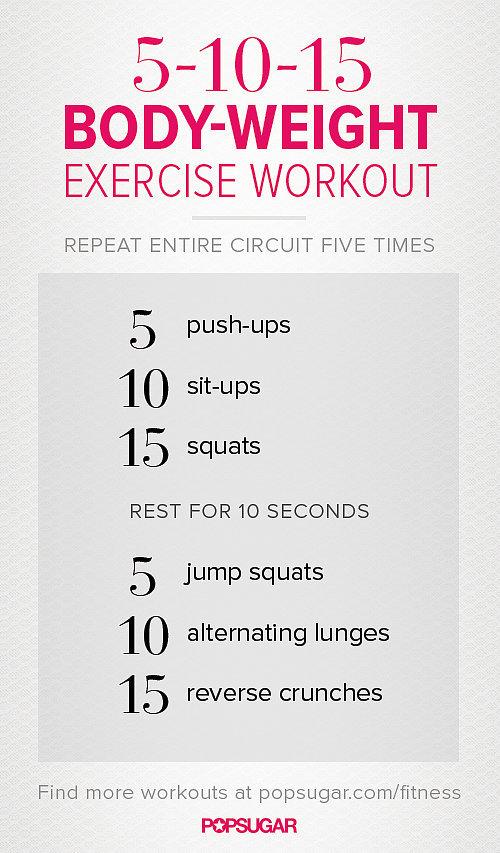 5-10-15 Workout