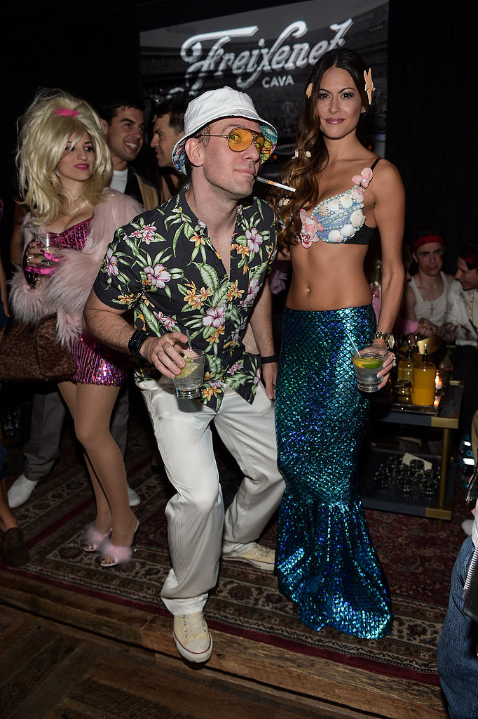 In 2014, JC Chasez got into character as Hunter S. Thompson in LA.