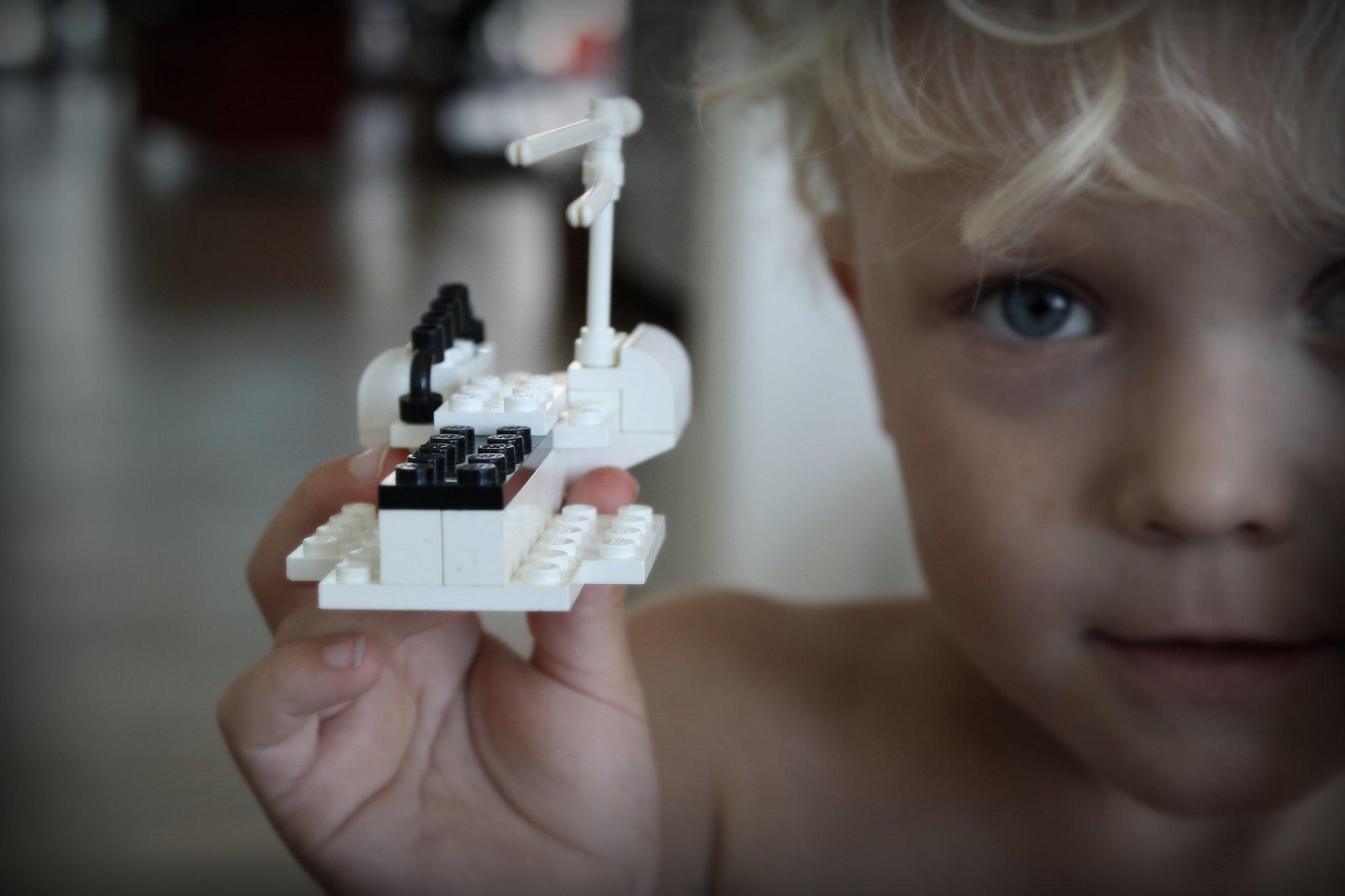 Build and Break Lego Creations