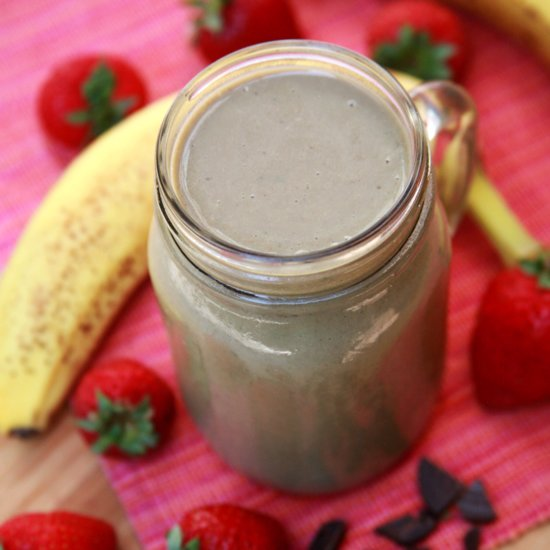 A High-Protein Breakfast Smoothie For Busy Mornings