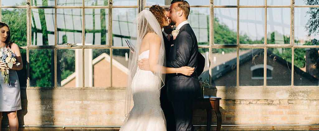 """Something Isn't Right About This """"You May Now Kiss the Bride"""" Photo"""