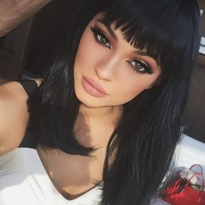 Kylie Jenner Fringe on Instagram