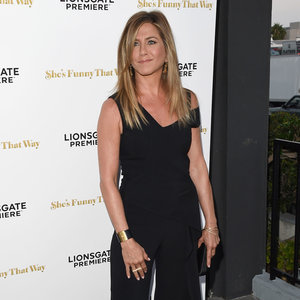 Jennifer Aniston Jumpsuit | She's Funny That Way Premiere