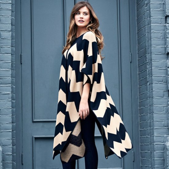 Gok Wan For Sainsbury's Must-Have Chevron Cape