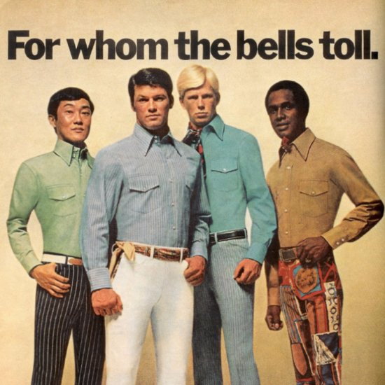 Funny Men's Fashion Ads From the '70s