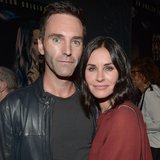 Courteney Cox and Johnny McDaid at the Hand of God Premiere