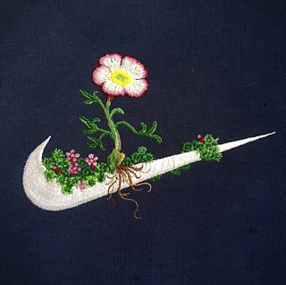 This Artist Embroiders on Everyday Clothes — and the Results Are Incredible