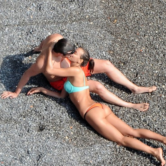 Celebrity Beach PDA Pictures